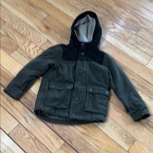 Boys size 6-7 pea coat